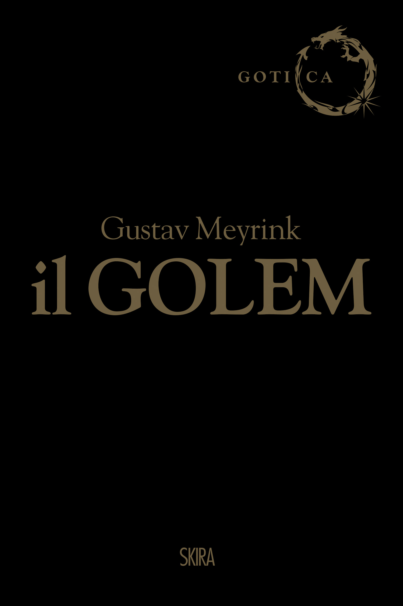 Il Golem Book Cover