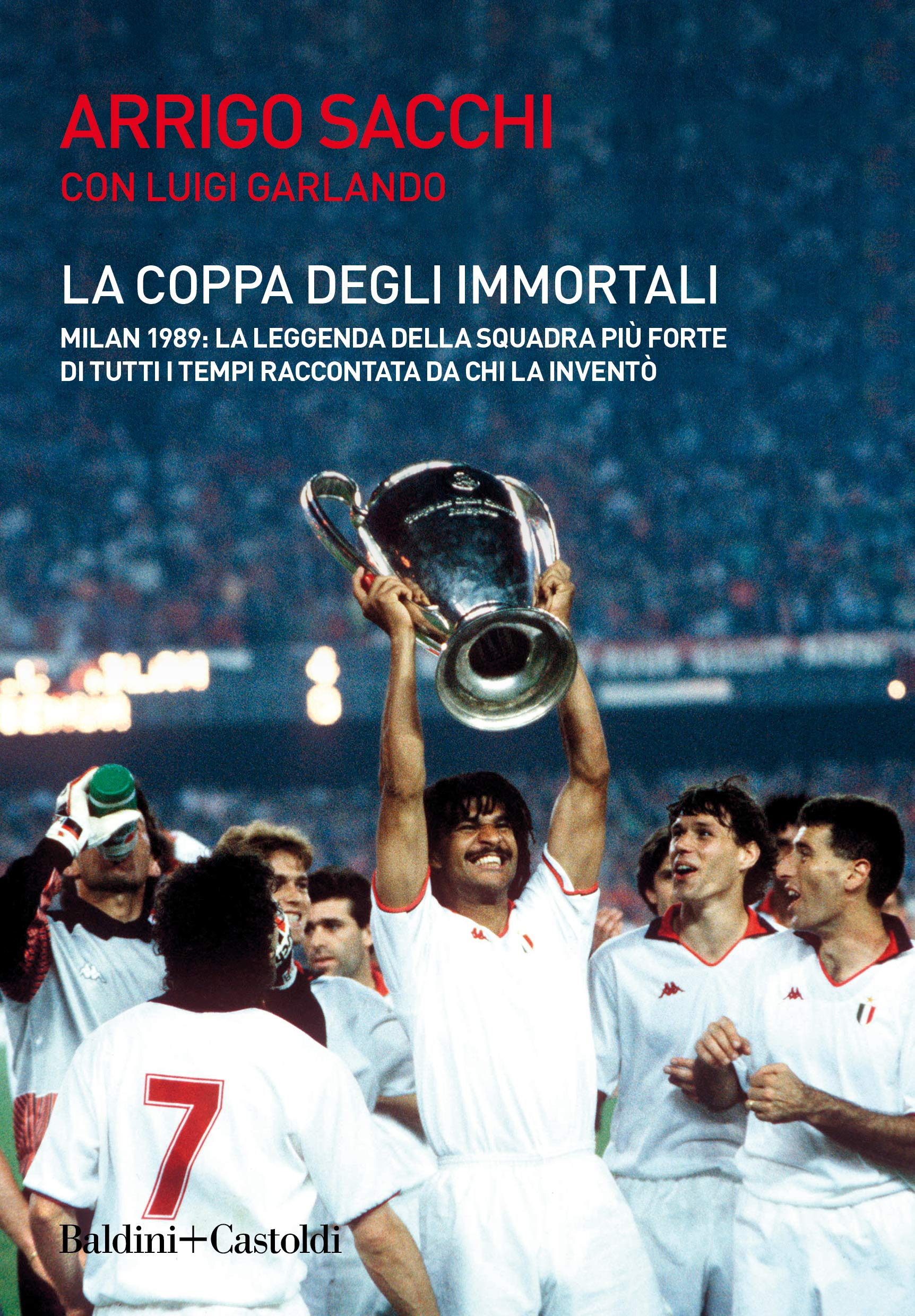 La coppa degli immortali Book Cover