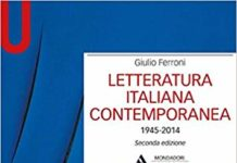 letteratura italiana contemporanea narrativa