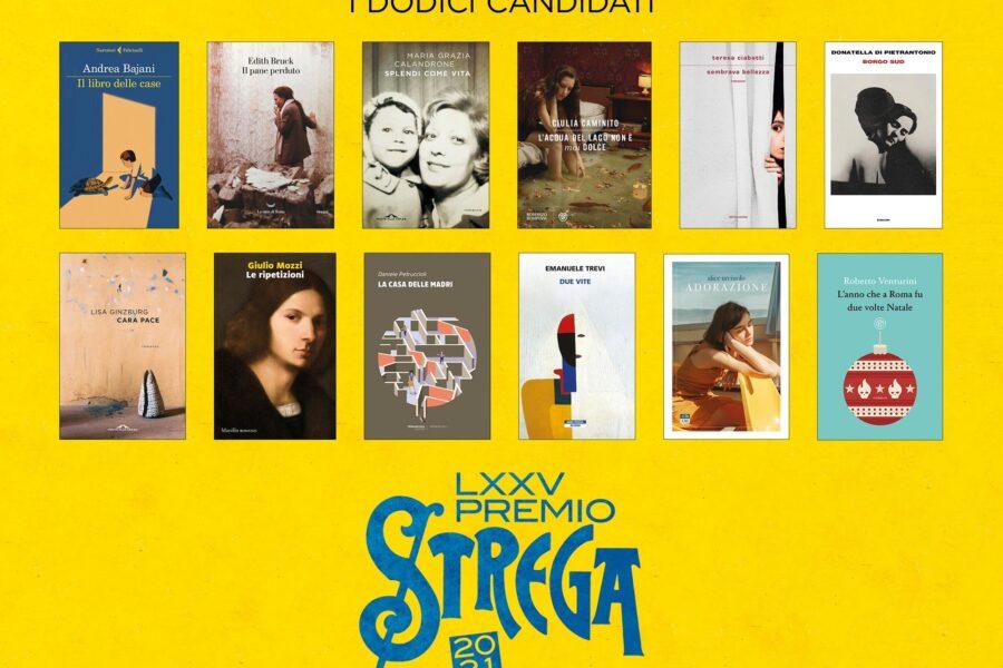 Premio Strega 2021 12 Libri candidati Prem
