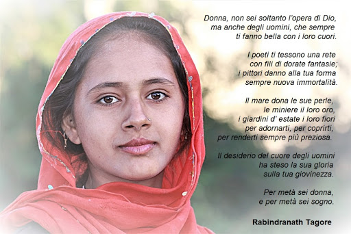 Tagore Poesia alle donne