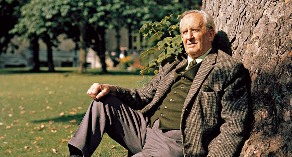 SPECIAL PRICE. The late British author J. R. R. Tolkien pictured in Oxford, 1972. He was elected an Honorary Fellow of Merton College in 1971. Tolkien died in 1973.